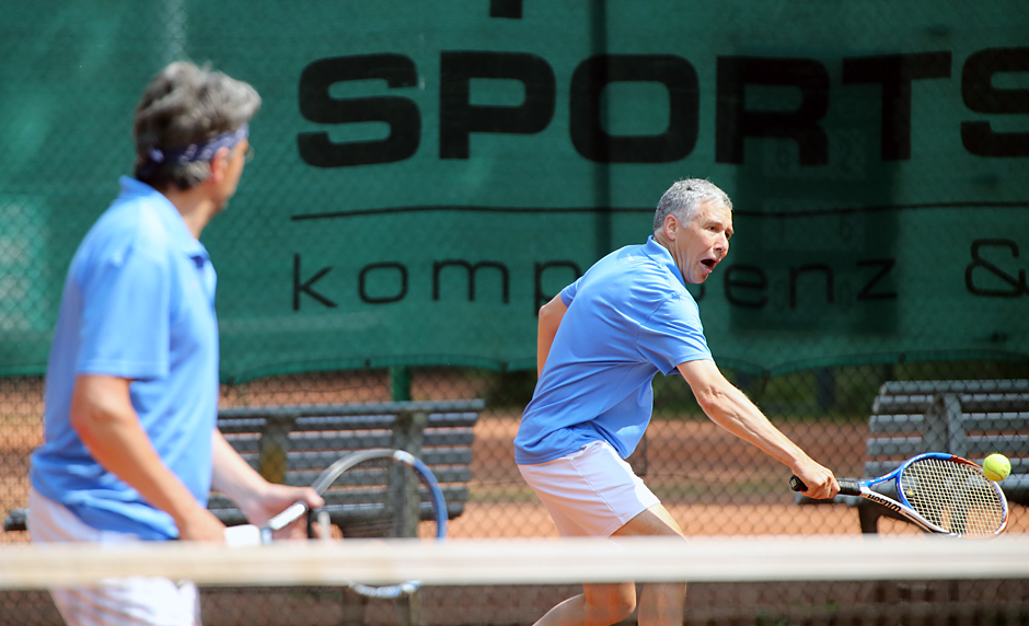 Miguel Pelegrina und Martin Evers ( TC Blau-Gelb Eigen )