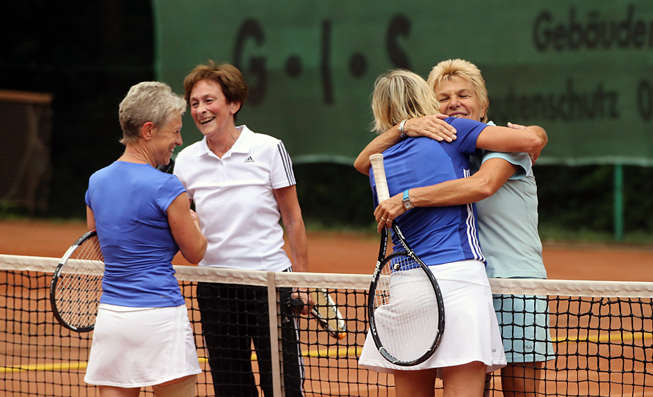 Roswita Libuda , Renate Czekalla , Gisela Hillebrand und Gaby Sprenger