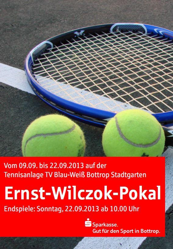Ernst-Wilczok-Pokal 2013 9.9. bis 22.9.2013  TV Blau-Weiß