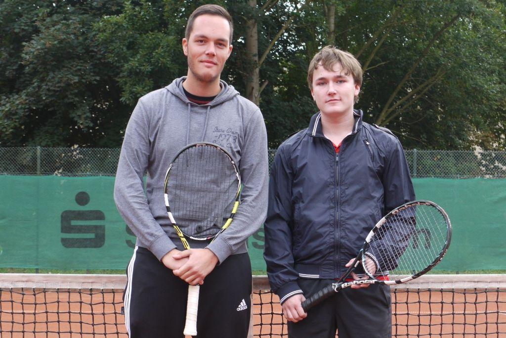 Niklas Lindner (links) Sieger Deilbachpokal 2013