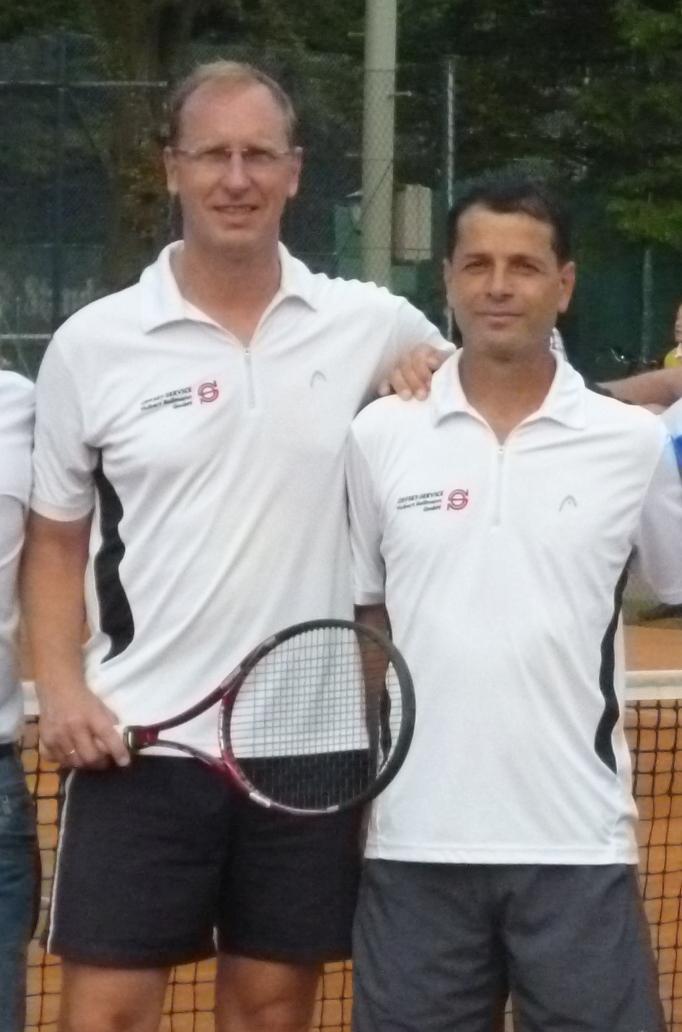 Stadtmeister Herren Doppel 40: Michael Amft und Anton Radev