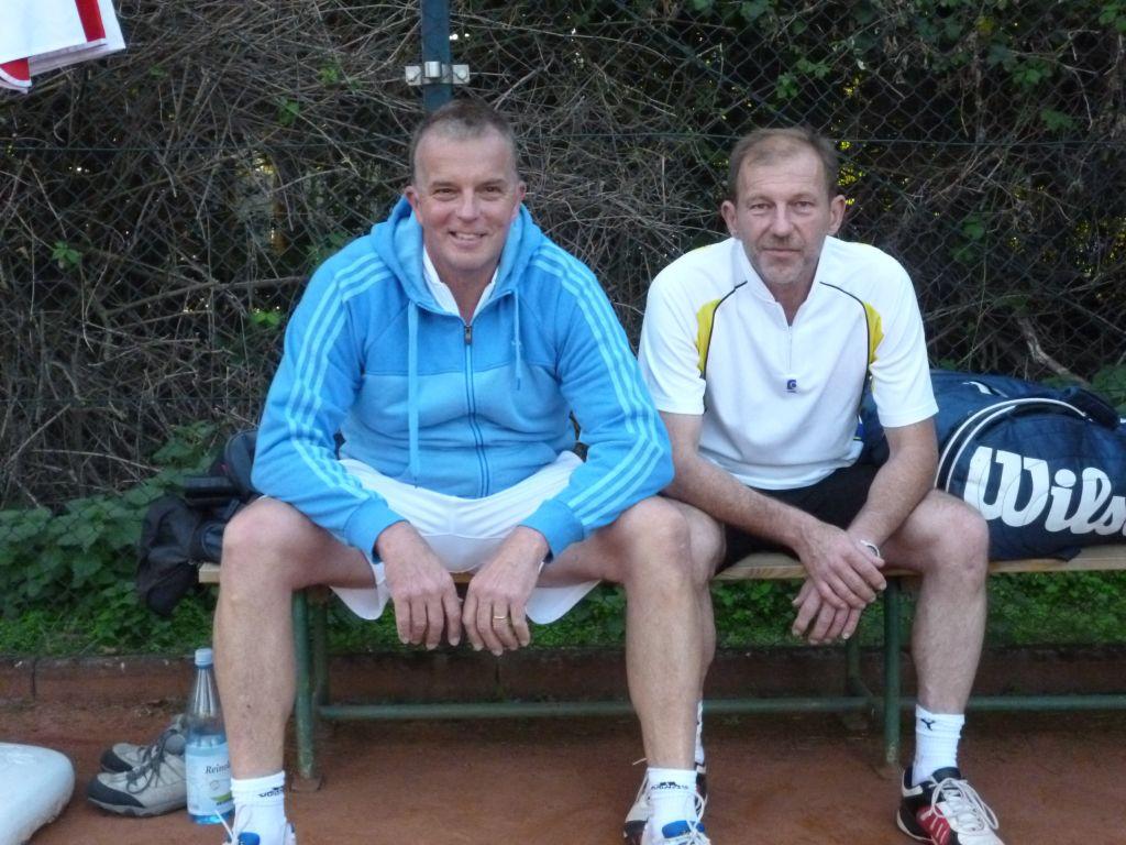 Vize-Stadtmeister Herren Doppel 50: Klaus Kuhlmann und Eric Wick