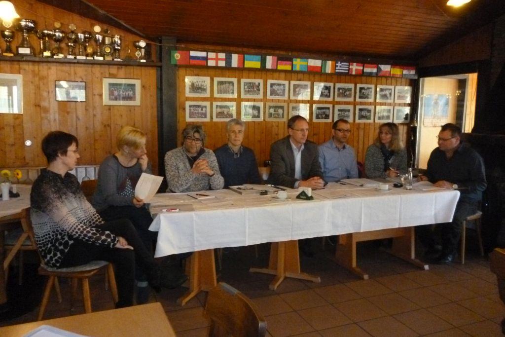 Vorstand des TC Blau-Gelb Eigen