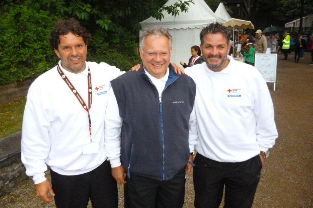 Sie waren dabei: v.li.: Guido Veenstra, Dietmar Strtmann und Marco Saric