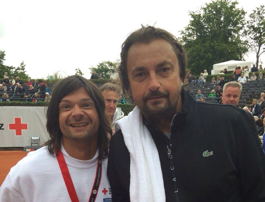 Christian Münzer und Henri Lecomte