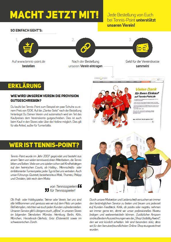Tennispoint Info
