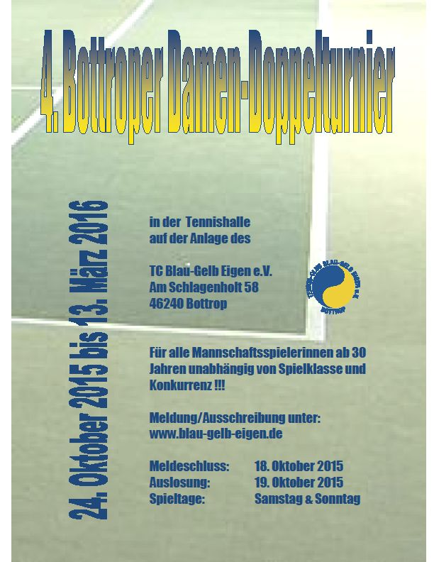 Flyer Damen Doppel-T. 2016