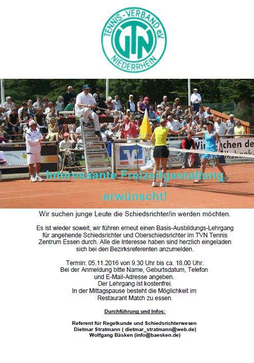 Flyer SchiedsrichterAusbildung